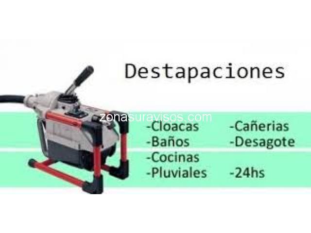 """Plomero zona """"Quilmes"""""""