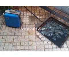 Destapaciones mecanizadas Villa Dominico