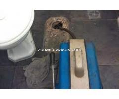 Destapacion cloacas Villa Dominico