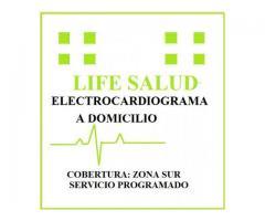 Electrocardiograma a Domicilio - Zona Sur