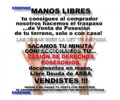 ESCRITURAMOS TERRENOS - CASAS SIN PAPELES -
