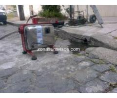 destapaciones con maquina en Florencio Varela