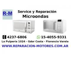 Reparación Microondas Florencio Varela