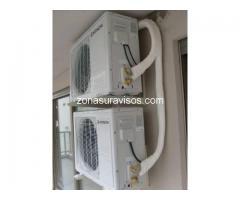instalacion de aire acondicionado split tecnico matriculado