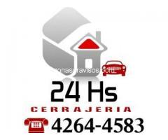 Cerrajeria en Temperley 42644583 urgencias a toda hora 24 hs