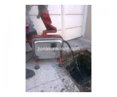Destapaciones en Lomas de Zamora